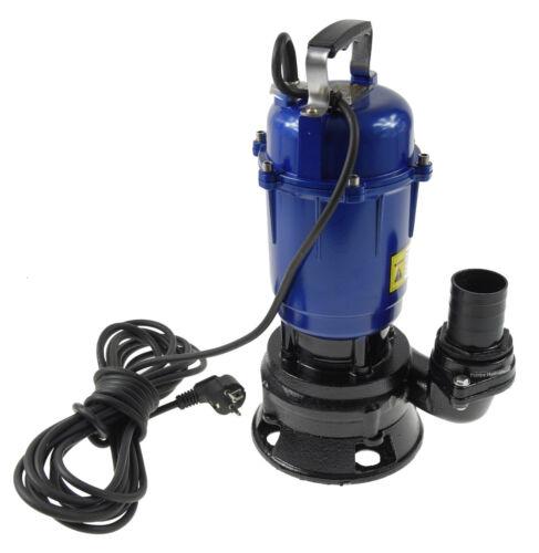 Fäkalienpumpe Tauchpumpe Schmutzwasserpumpe Magnum 550W 18000l//h Hammer Preis