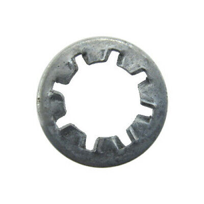 18-8 3//8 500 pcs Tooth Lock Washers Internal-External Tooth Washer AISI 304 Stainless Steel