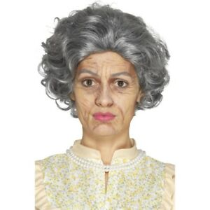 Details about Old Age Make up Kit Mens Ladies Halloween Fancy Dress Granny  kit
