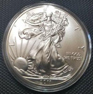 2011 Silver Eagle 1 Troy Oz Ounce Brilliant Uncirculated BU