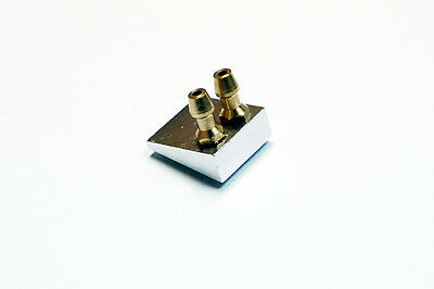aluminum dual water pick up flush for rc boats
