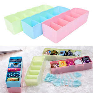 Image Is Loading 5 Grid Bra Socks Underwear Ties Divider Closet