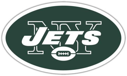 """New York Jets NFL Football Car Bumper Locker Notebook Sticker Decal 5/""""X3.5/"""""""