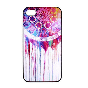 Dream-Catcher-Tribal-Pattern-Hard-Back-Case-Cover-for-Apple-iPhone-4-4S-4G-4th