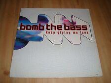 "BOMB THE BASS -  KEEP GIVING ME LOVE  (RHYTHM KING  12"")"