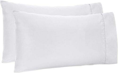 US Stock Fitted Sheet 12 Inch King Size White Solid 1000TC Egyptian Cotton