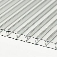 6mm Clear Polycarbonate Sheet 5000mm Long X 1200mm Wide Stock Sale