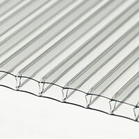 6mm Clear Polycarbonate Sheet 4000mm Long X 2100mm Wide Stock Sale