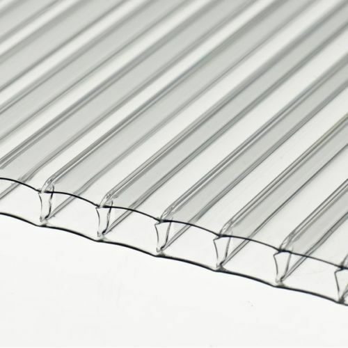 4mm Clear Polycarbonate Sheet 1500mm x 610mm Greenhouse replacement *Stock Sale*