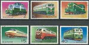 Timbres-Trains-Coree-1397G-N-o-lot-12844
