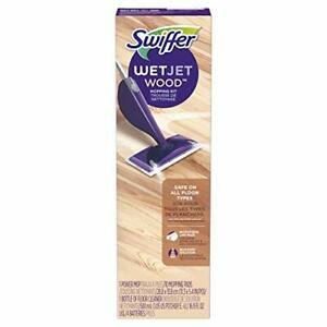 Swiffer WetJet Wood Floor Mopping and Cleaning Starter Kit, 1 Mop, 10 Pads 37000498421 | eBay
