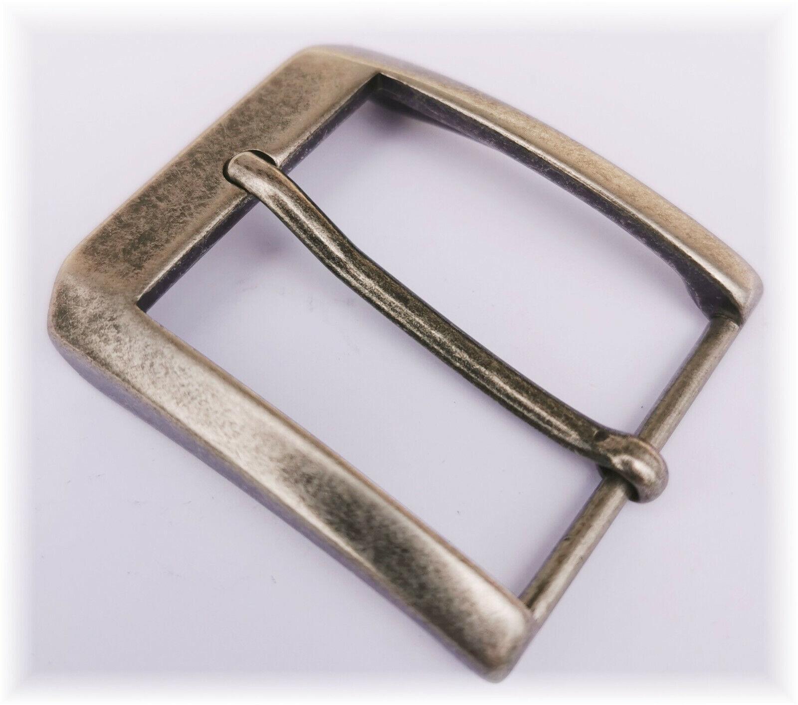 Gürtelschnalle Gürtelschliesse für 3,5 cm Wechselgürtel Schließe NICKELFREI
