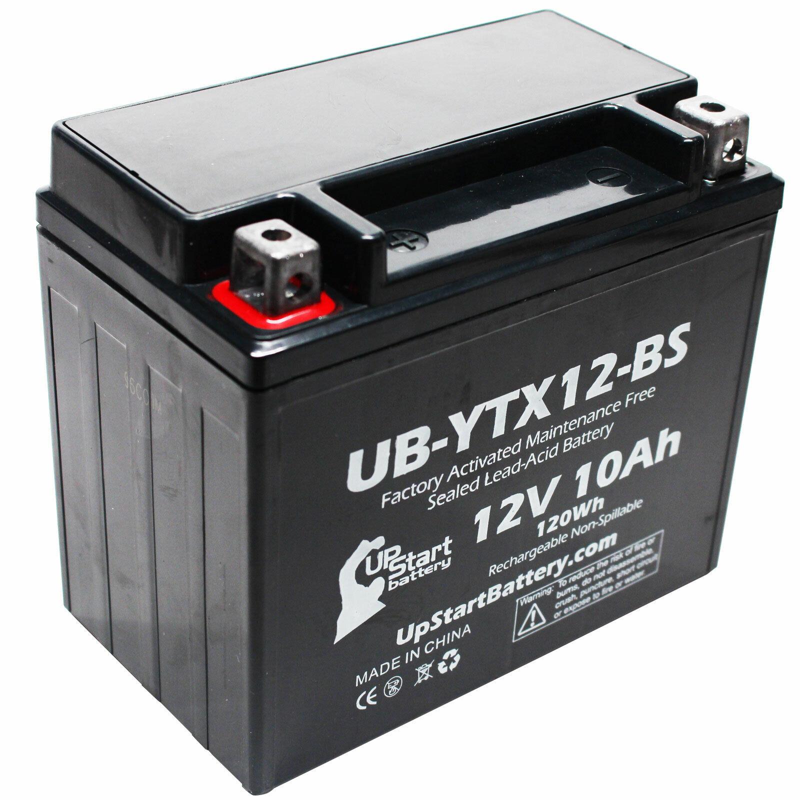 12V 10Ah Battery for 1989 Suzuki LT230E QuadRunner 230 CC