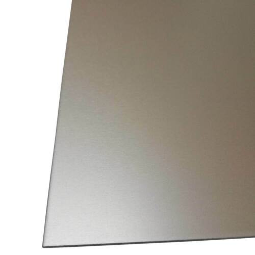 Aluminium Sheet 1,5 mm Silver Natural Anodised Colour Resistant Hardened Surface