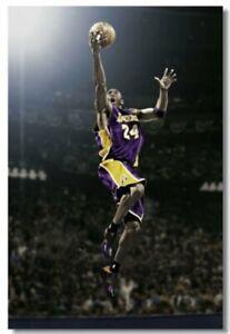 Kobe Bryant MVP Basketball Star Boy Room Club Art Wall Poster Print 501