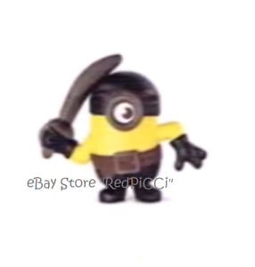 McDonald's Happy Meal Minions: The Rise of Gru (2020) UK - Pirate