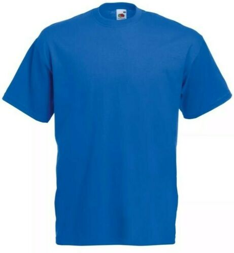 T-shirts Hommes Original Fruit of the loom Neuf Diverses Couleurs//Tailles Basic