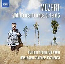 Mozart: Violin Concertos Nos. 3-5, New Music