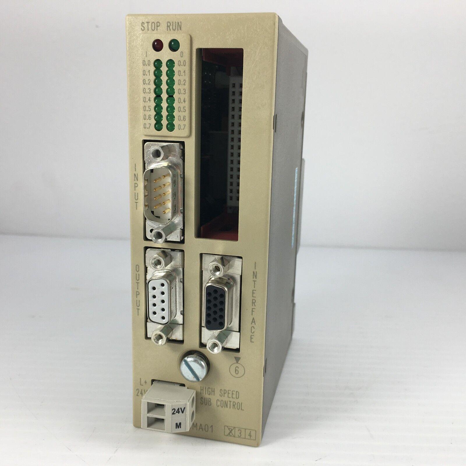 SIEMENS 6ES5-265-8MA01 High Speed Sub Control