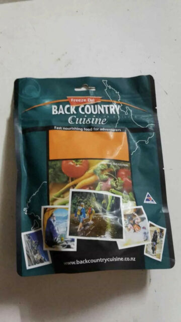 Back Country Beef Teriyaki Hiking Camping Food 2 Serve