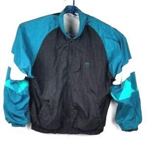 TODD-1-Jacket-Xlarge-XL-VTG-80s-Nylon-Athletic-Zip-Front-Multi-color-Jacket