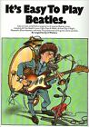 It's Easy to Play: Beatles: v. 1 by Cyril Walters (Paperback, 2000)