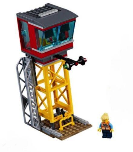 Lego City Cargo Centre de contrôle Tour de Set 60198 NOUVEAU!