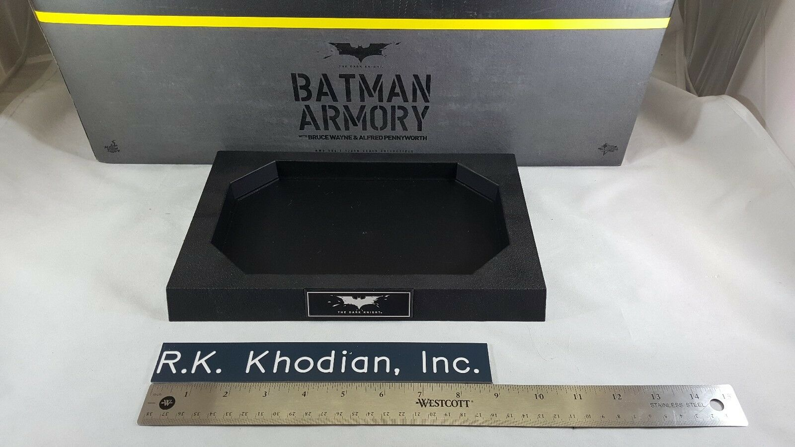 Hot Toys 1 6 6 6 scale empty Armory Base only from Batman TDKR Armory set MMS236 b5c694