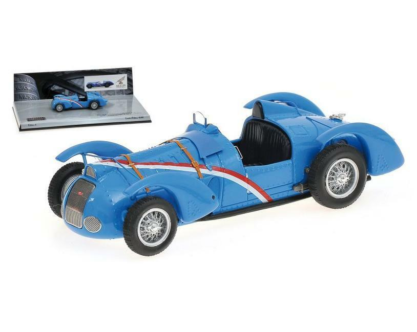 Delahaye Type 145 V-12 Spider 1932 blueeette 437116100 Minichamps 1 43 NEW  Boxed