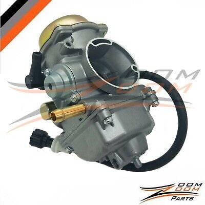 New Carburetor Carb Compatible with 2002 2003 2004 2005 2006 2007 Suzuki LT-F400 Eiger 400 2x4 4x4