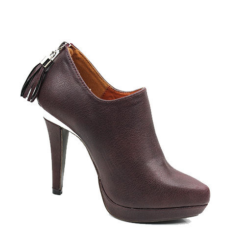 WOMENS PLATFORM HIGH HEEL TASSEL LOW ANKLE BOOTS BOOTIES LADIES SHOES SIZE 3-7