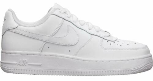 Nike Air Force 1 LOW GS SIZE Leather Basketball Shoes 314192-117 YOUTH White DS