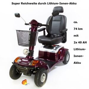 Elektromobil-Atlantis-Kymco-super-Reichweite-Lithium-Ionen-Akku-15-km-h-Scooter