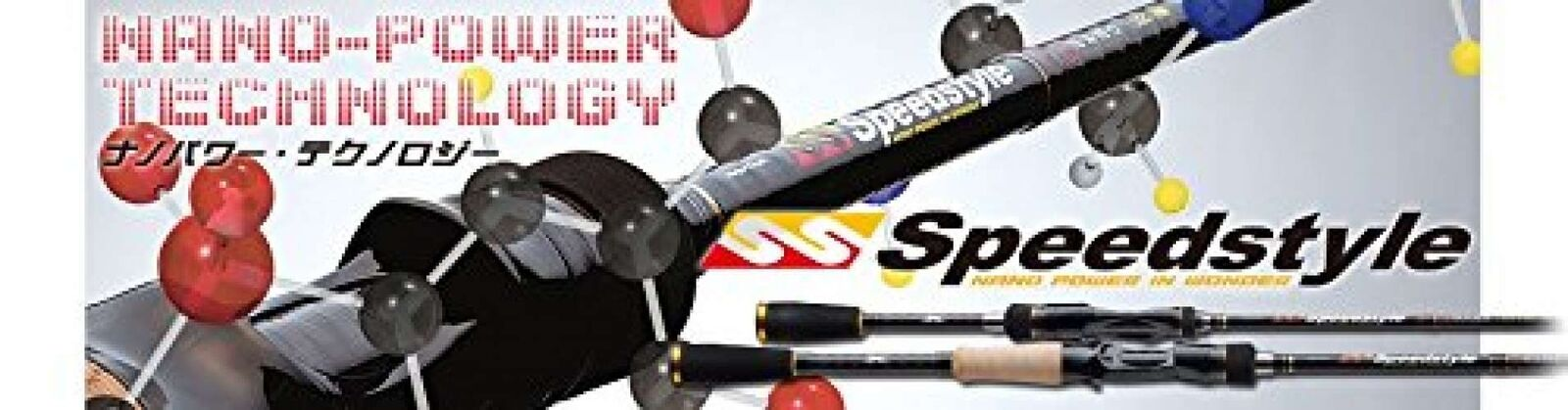 Major Craft Spinning Rod Speed Style Spinning 2 Piece SSS - 652 L F S JAPAN