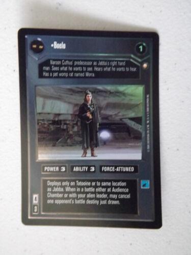 Reflections II Star Wars CCG Boelo DS FOIL