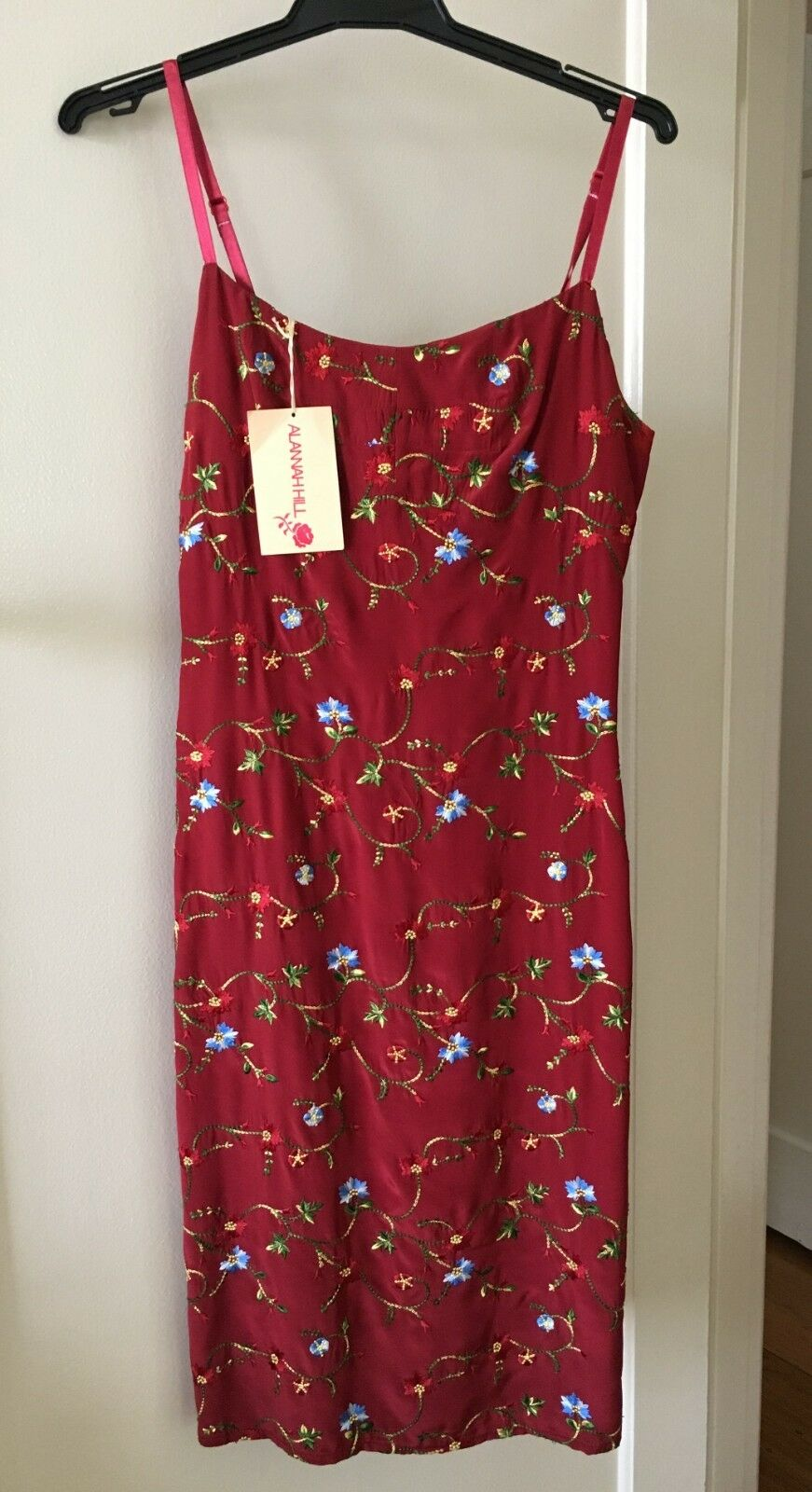 Alannah Hill vintage rot dress NEW Größe 8 originally