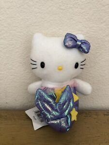 Vintage-Hello-Kitty-Pisces-Mermaid-Dolls-Of-The-Zodiac-Plush-2000