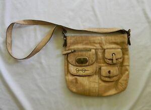 398f95f111 Jessica Simpson Women s Tan Colored Cross-Body Large Shoulder Bag ...