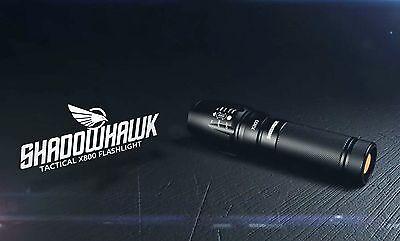 Genuine X800 SHADOWHAWK 8000LM CREE L2 LED Tactical Military Flashlight NEW