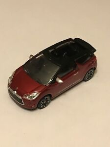 CITROEN-DS3-2012-CABRIO-ROUGE-NOIR-COLLECTION-3-INCHES-SERIE-2013-1-64