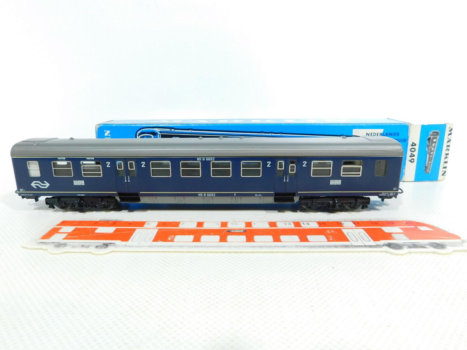 Bv96-0, 5    h0/ac 4049 D-TRENO sede carrello NS; S.G. + OVP, leggeri striature