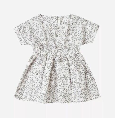 Hauteur et cru enfant Kat Dainty feuilles robe taille 18-24 mois NEUF avec étiquettes