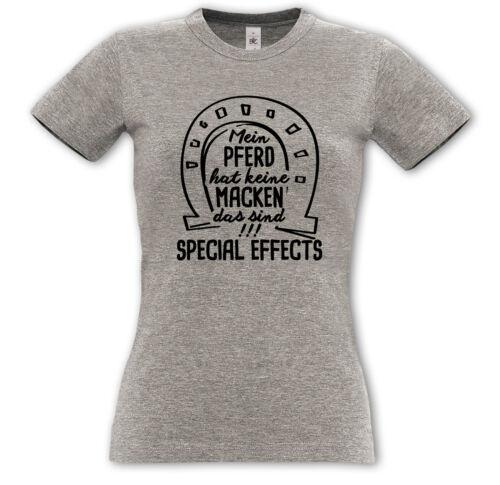 Mon cheval n/'a pas de manies.. special effects-démoniaque shirt-à Cheval Cadeau