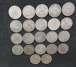 George-V-Shillings-1911-to-1936-Choose-your-date