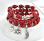 Boho-Multilayer-Natural-Stone-Bead-Tassel-Pendant-Chain-Bracelet-Charm-Women-Set thumbnail 45