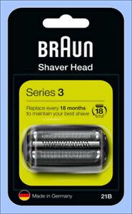 Original ! Braun 21B Kombipack Series 300/301/310 5408+5409 Geeignet f.Braun 32B