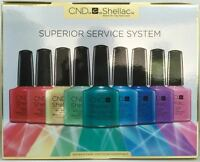 Cnd Shellac Superior Service System Uv/led Gel Power Polish Intro Kit Gift Set