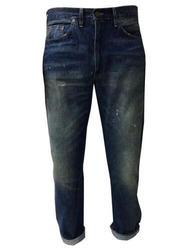 Levi's Clothing Vintage Uomo 501z Jeans 1954 100 Stone Con Zip Cotone Mod fSwZOScq