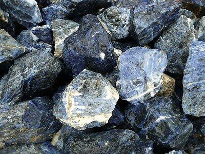 3 Pounds of 'AA' Grade Sodalite Rough - Cabbing, Tumble Rocks, Wrapping, Reiki