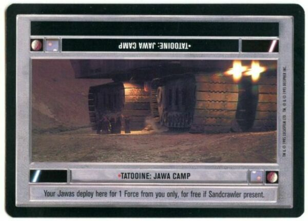Tatooine Star Wars Premiere Limited 1995 LS Common CCG Card
